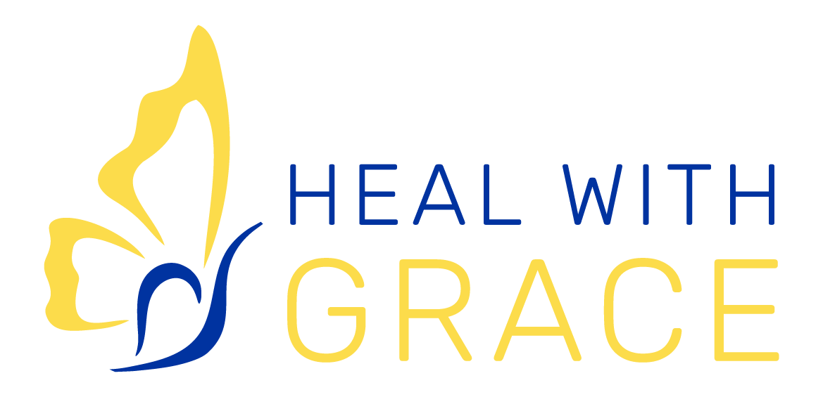 Heal With Grace logo.