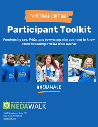 Decorative cover of participant toolkit packet.